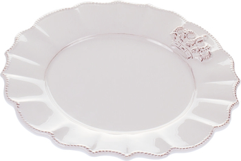 Блюдо керамическое White Queen