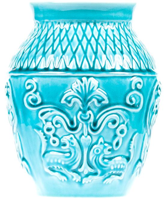 Ваза керамическая Ferdy Blue №22
