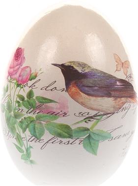 Декоративное украшение керамическое Bird Egg Easter