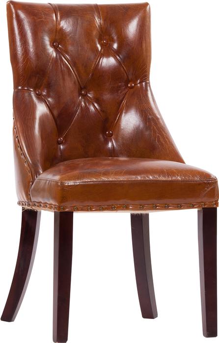 Кресло кожаное Permarie Dandy