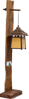 Торшер деревянный Budy