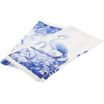Комплект салфеток под приборы Flamingo Blue