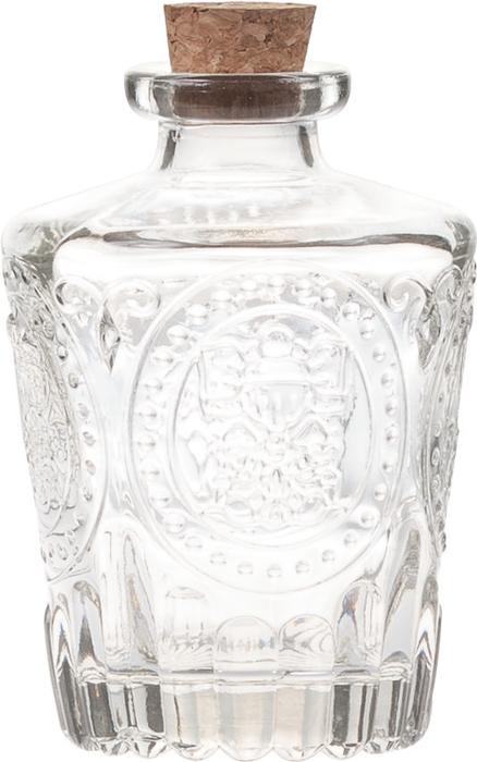 Бутылка стеклянная с пробкой Buana Grey