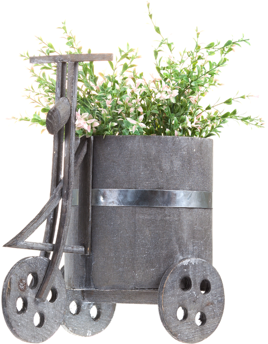 Кашпо деревянное Bicycle