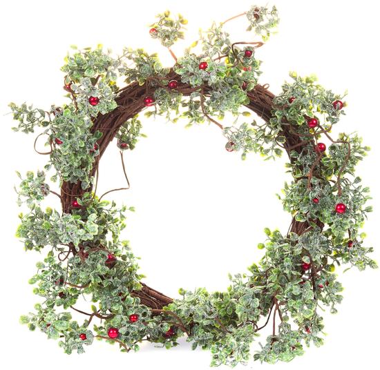 Венок еловый искусственный Garland Holidays