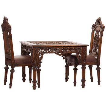 Кофейный столик резной Selenion Floral