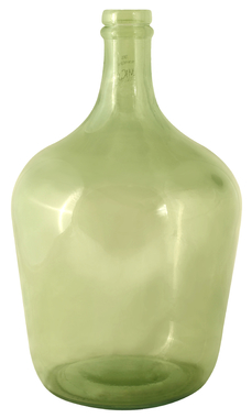 Ваза стеклянная Green Bottle