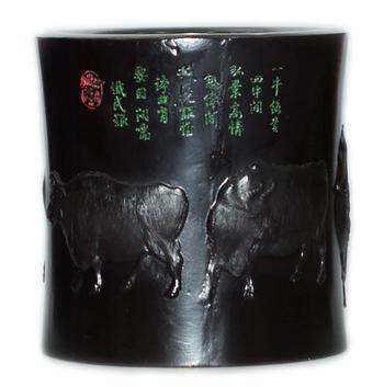 Чаша из эбенового дерева