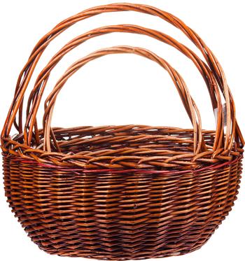 Комплект плетеных корзин Liburan