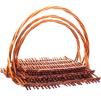Комплект плетеных подносов Liburan