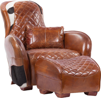 Кресло с пуфом Permarie Dandy
