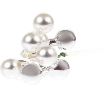 Комплект елочных украшений Silver Garland Holidays