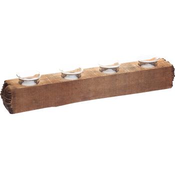 Подсвечник деревянный Timber