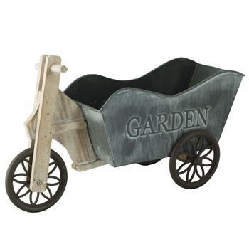 Кашпо деревянное Bicycle Mod.2